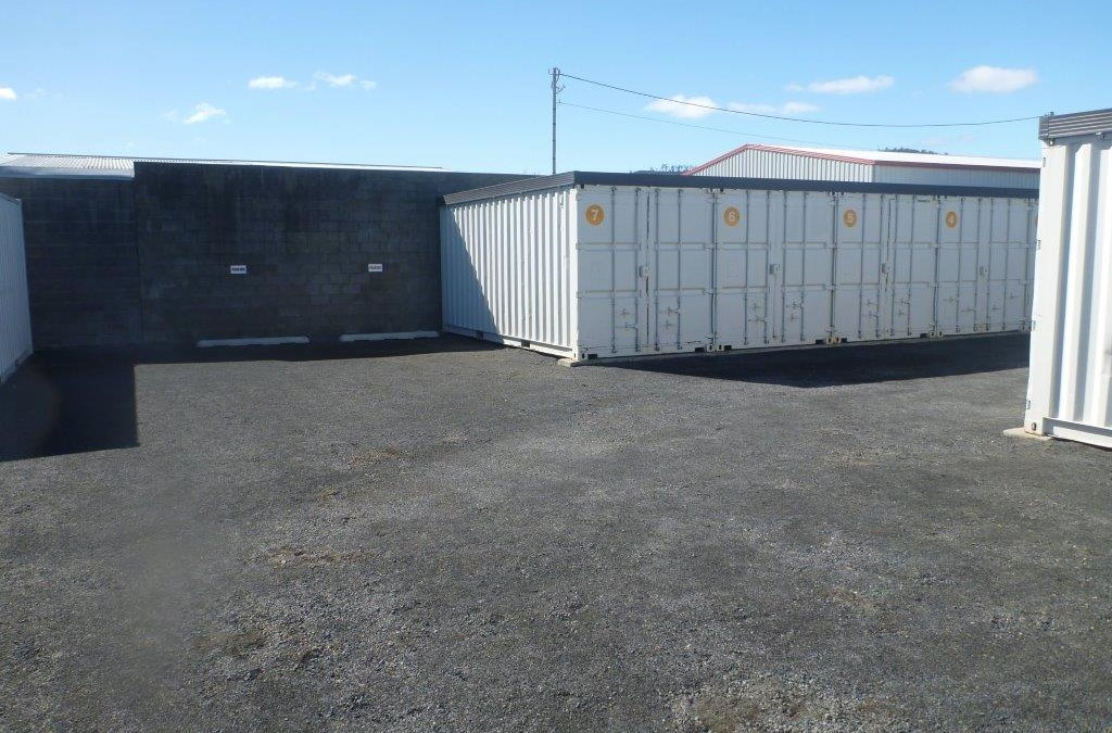 Improved self storage facility